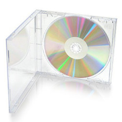 Caixa CD/DVD Mediarange Jewel 10.4mm Transparente  BOX24 - ONBIT
