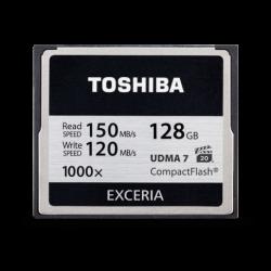 Toshiba Exceria Compact Flash 128GB - 1000x - 150mb/s  CF-128GTGI(8 - ONBIT