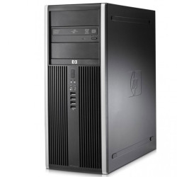 Computador Recondicionado HP 8000 Elite Tower Intel Q8200, 4GB, 250GB, DVD, Windows 7 Pro