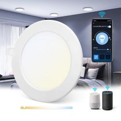 Downlight LED Inteligente Wifi 18W CCT 220mm Aigostar App