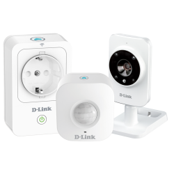 D-Link Smart Home HD Security Kit DCH-100KT
