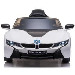 Carro Elétrico BMW i8 12V Bateria c/ Comando Branco