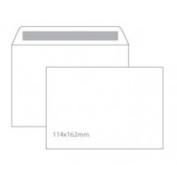 Envelope C6 Sem Janela 114x162 Silicone 90gr - Caixa 500 Unidades