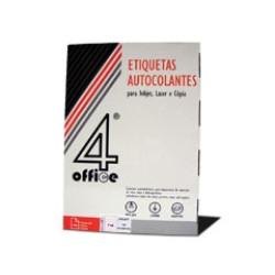 Etiquetas autocolantes 4Office 105x48 - 100 Folhas   - ONBIT