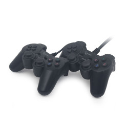 Conjunto 2 Comandos Gembird Dual USB c/Vibração