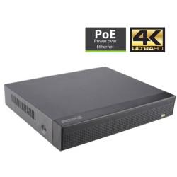 Gravador de Vídeo de Rede 4K Amiko 36 Canais IP NVR 36CH