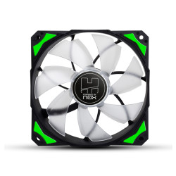 Ventoinha Nox Hummer H-fan 120 LED Green