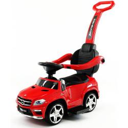 Carro de Empurrar Mercedes Benz GLE63 c/ Pega Vermelho