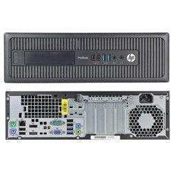 Computador Recondicionado HP ProDesk 600 G1 SFF Intel G3220, 4GB, 500GB, Windows 7 Pro