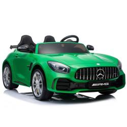 Carro Elétrico Mercedes AMG GTR XL 24V Bateria c/ Comando Verde