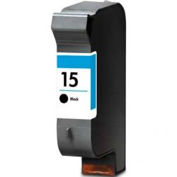 Tinteiro HP Reciclado Nº 15 preto (C6615DE)