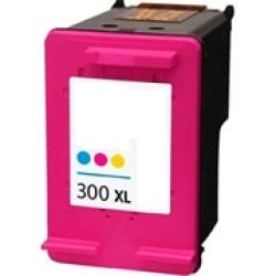 Tinteiro HP Reciclado Nº 300 XL tricolor (CC644EE)