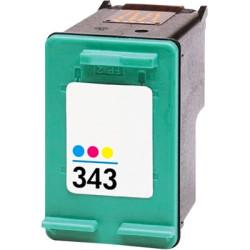 Tinteiro HP Reciclado Nº 343 tricolor (C8766EE)