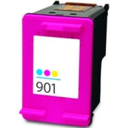Tinteiro HP Reciclado Nº 901 XL tricolor (cc656ee)