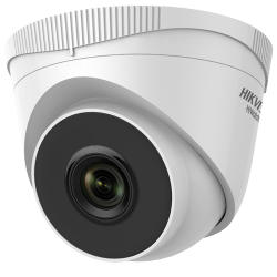 Câmara IP Hikvision HiWatch 4MP Mini Turret Exterior PoE