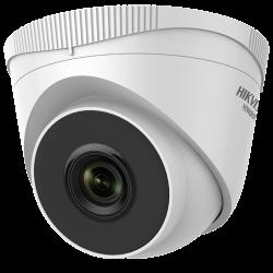 Câmara IP Hikvision HiWatch 2MP Mini Turret Exterior PoE