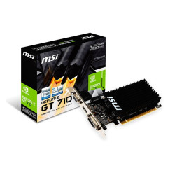 MSI GEFORCE GT 710 1GB DDR3  912-V809-1899 - ONBIT