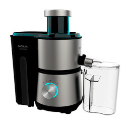 Máquina de Sumos Cecotec Juice&Fresh 400 Titan Black