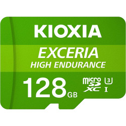 Cartão Memória Kioxia Exceria High Endurance C10 V10 A1 microSDHC UHS-I 128GB