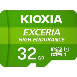 Cartão Memória Kioxia Exceria High Endurance C10 V10 A1 microSDHC UHS-I 32GB