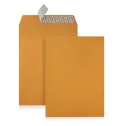 Envelopes Kraft B5 (176X250mm) c/tira de silicone - Pack 250 unidades   - ONBIT