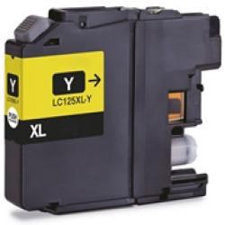 Tinteiro Brother Compatível LC125XL (V3) amarelo