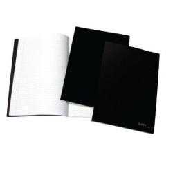 Caderno Quadriculado Capa Preta A5 4School   - ONBIT