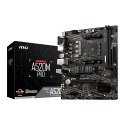 Motherboard MSI A520M PRO - sk AM4