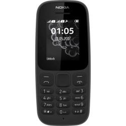 Telefone Nokia 105 Preto