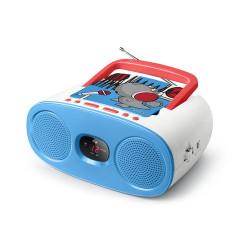 Rádio FM c/ Leitor CD Muse Kids M-20 KDB Azul