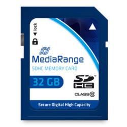 Cartão Mediarange SD HC 32GB - Class 10 - 45mb/s
