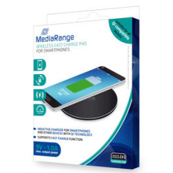 Carregador s/Fios Smartphones Quick Charge Mediarange