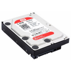 Disco Rígido Western Digital RED 3TB 3.5 64MB NASware (WD30EFRX)