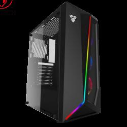 Caixa ATX Fantech Pulse CG71 RGB Preta