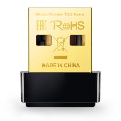 Adaptador USB Wireless TP-Link AC600 Archer T2U Nano