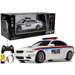 Carro Telecomandado R/C Polícia 1:18