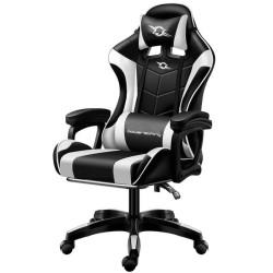 Cadeira Power Gaming Preta / Branca