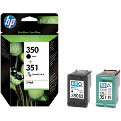 HP 350/351 Combo-pack Preto/Tri-color Original (SD412EE)