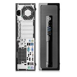 Computador Recondicionado HP ProDesk 600 G1 SFF Intel i5-4430, 4GB, 500GB, Windows 7 Pro