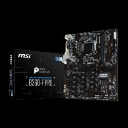 Motherboard MSI B360-F PRO - sk 1151