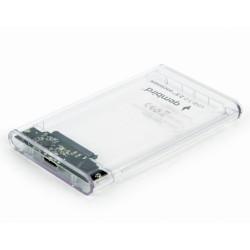 Caixa Externa Gembird 2.5´ SATA USB3.0 Transparente