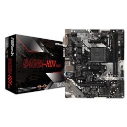 Motherboard Asrock B450M-HDV R4.0 - sk AM4