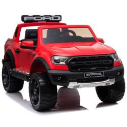 Carro Elétrico Ford Ranger Raptor 4x2 F150R 12V Bateria c/ Comando Vermelho