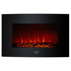 Lareira Elétrica Decorativa de Parede Cecotec Ready Warm 3500 Curved Flames