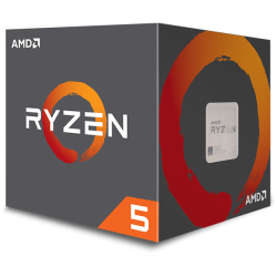 Processador AMD Ryzen 5 2600 Hexa-Core 3.4GHz c/ Turbo 3.9GHz 19MB Skt AM4