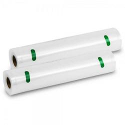 Pack 2 Rolos 28x600 para Cecotec FoodCare SealVac 600 Easy