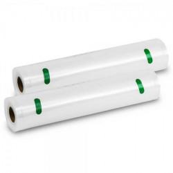 Pack 2 Rolos 20x600 para Cecotec FoodCare SealVac 600 Easy