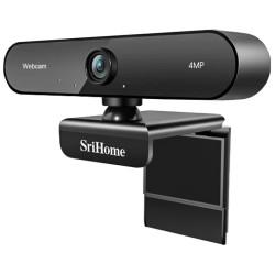 Webcam SriCam Full HD 4MP c/ Microfone