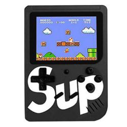 Consola Portátil Clássica 400 Jogos Sup Game Box Preta