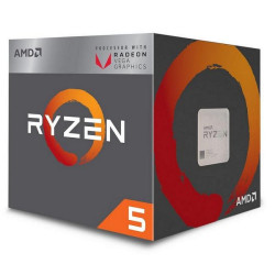 Processador AMD Ryzen 5 3400G Quad-Core 3.8GHz c/ Turbo 4.2GHz 6MB Skt AM4